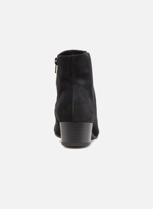Bottines et boots Gabor Virginie Bleu vue droite