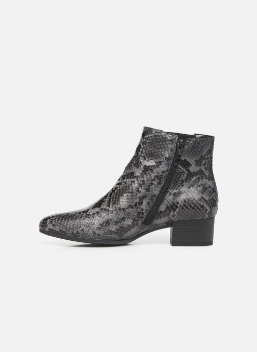 Bottines et boots Gabor Virginie Gris vue face