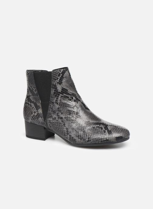 Ankelstøvler Gabor Virginie Grå detaljeret billede af skoene