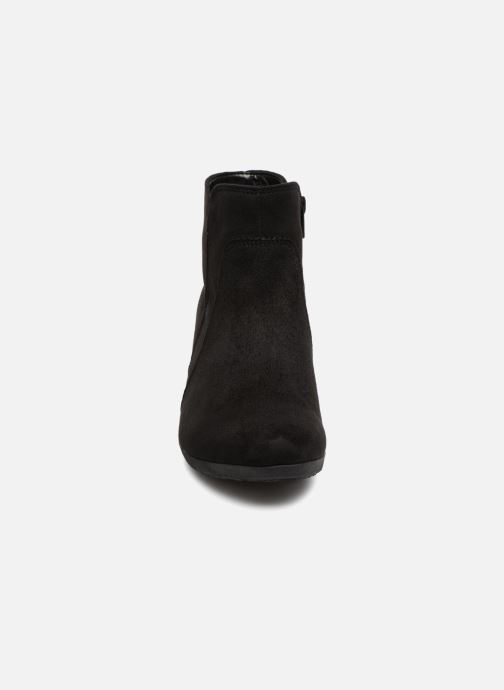 Bottines et boots Gabor Marina Noir vue portées chaussures