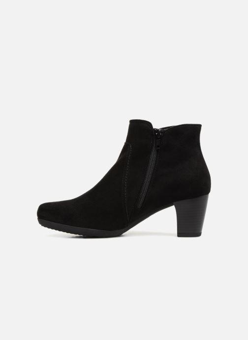 Bottines et boots Gabor Marina Noir vue face