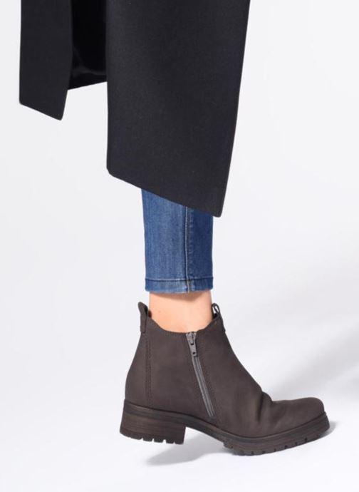 Bottines et boots Gabor Veronique Marron vue bas / vue portée sac
