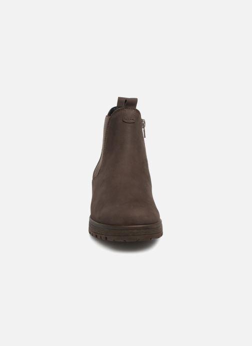 Bottines et boots Gabor Veronique Marron vue portées chaussures