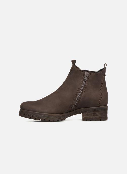Bottines et boots Gabor Veronique Marron vue face