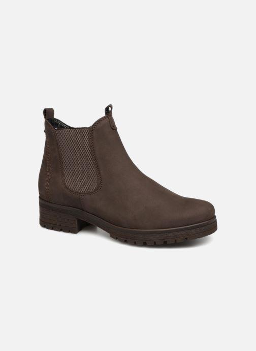 Bottines et boots Gabor Veronique Marron vue détail/paire