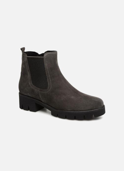 Boots en enkellaarsjes Gabor Charlotte Zwart detail