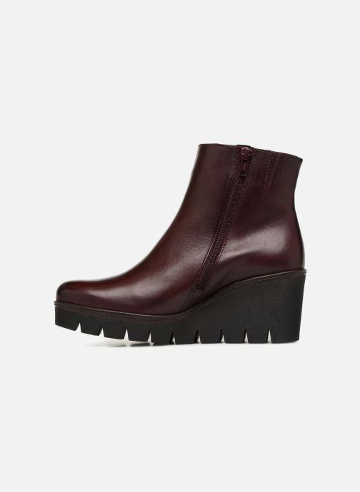 Bottines et boots Gabor Capucine Bordeaux vue face