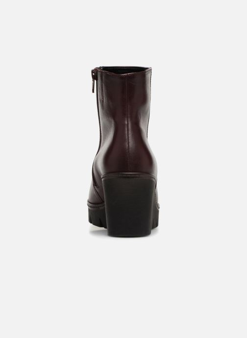 Bottines et boots Gabor Capucine Bordeaux vue droite