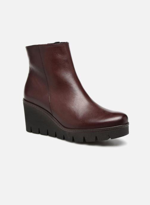 Bottines et boots Gabor Capucine Bordeaux vue détail/paire