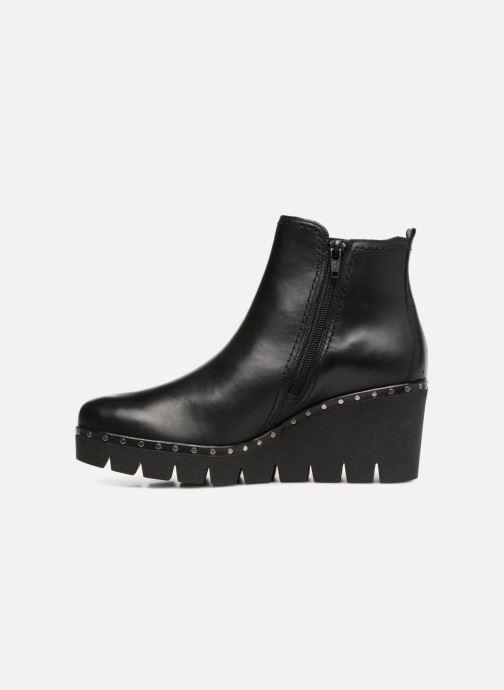 Bottines et boots Gabor Alice Noir vue face