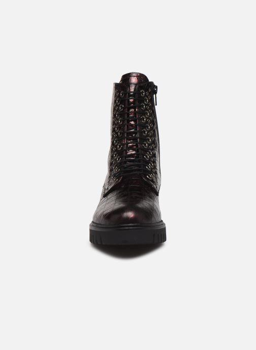 Bottines et boots Gabor Orpha Bordeaux vue portées chaussures