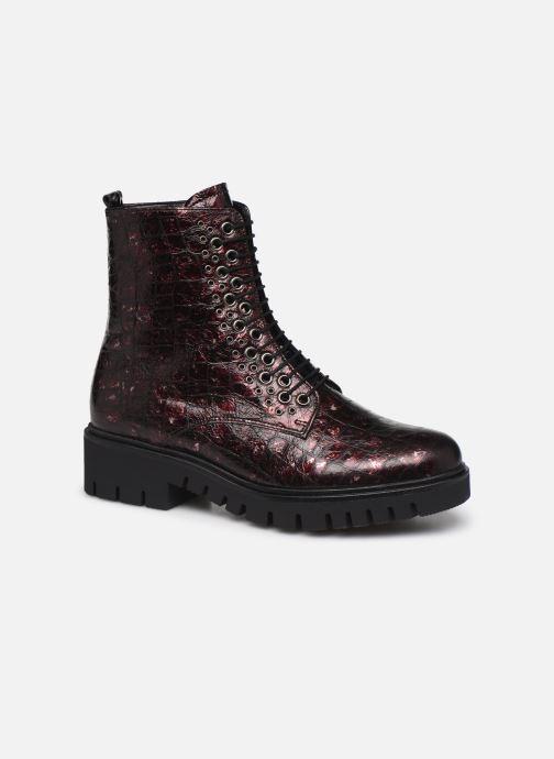 Bottines et boots Gabor Orpha Bordeaux vue détail/paire