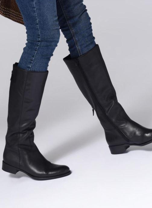 Stiefel Gabor Rhoda schwarz ansicht von unten / tasche getragen