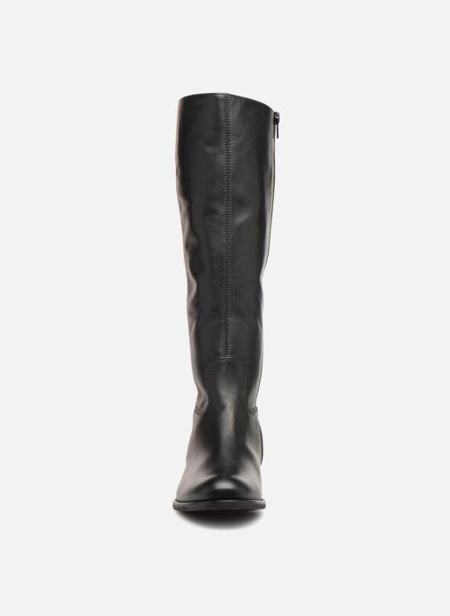 Bottes Gabor Rhoda Noir vue portées chaussures