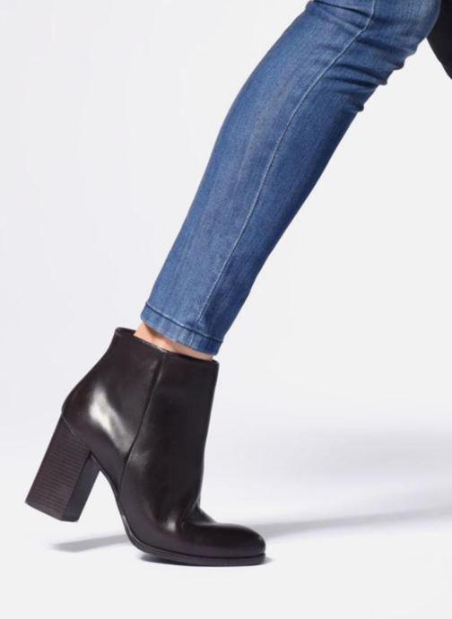 Stiefeletten & Boots Georgia Rose Agility schwarz ansicht von unten / tasche getragen
