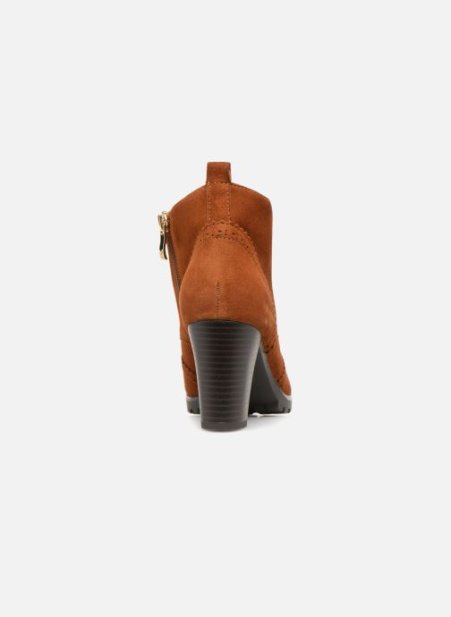 Ankle boots Caprice Becca Brown view from the right