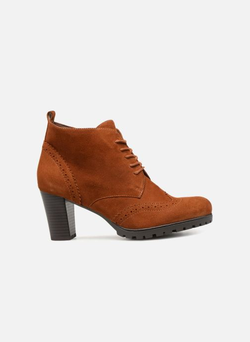 Ankle boots Caprice Becca Brown back view