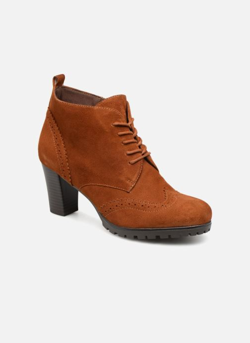 Ankle boots Caprice Becca Brown detailed view/ Pair view