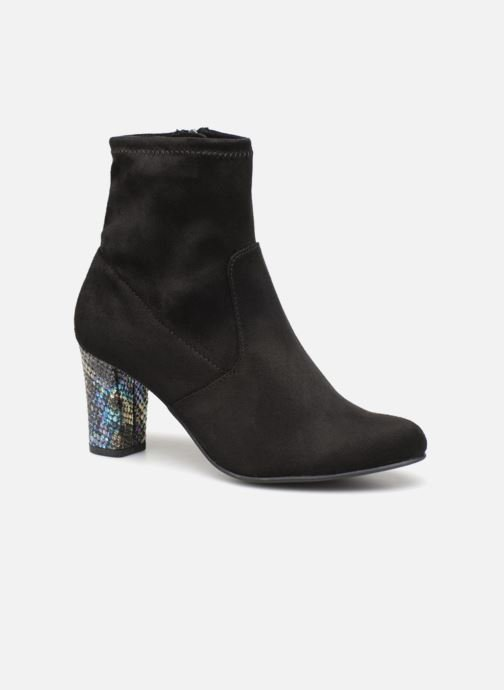 Ankle boots Caprice Jilian Black detailed view/ Pair view
