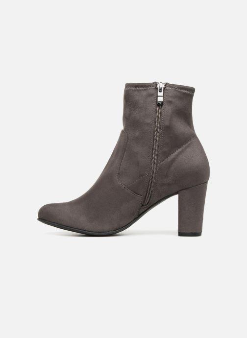Bottines et boots Caprice Jilian Gris vue face