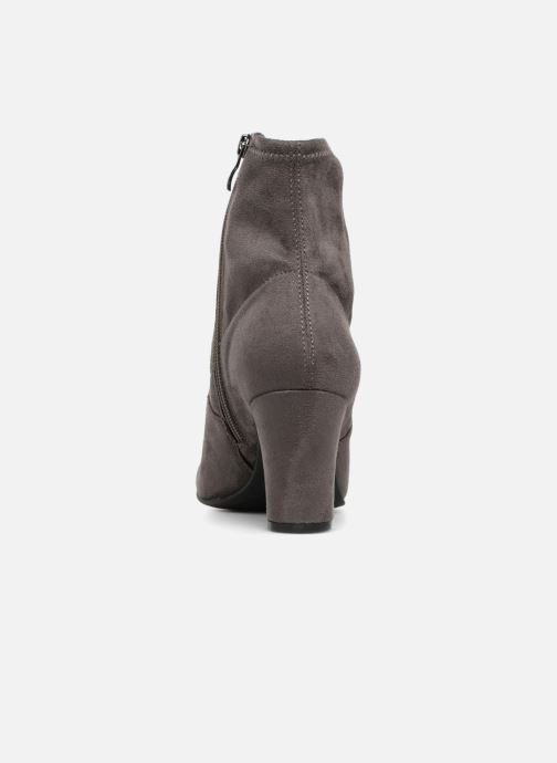 Stiefeletten & Boots Caprice Jilian grau ansicht von rechts