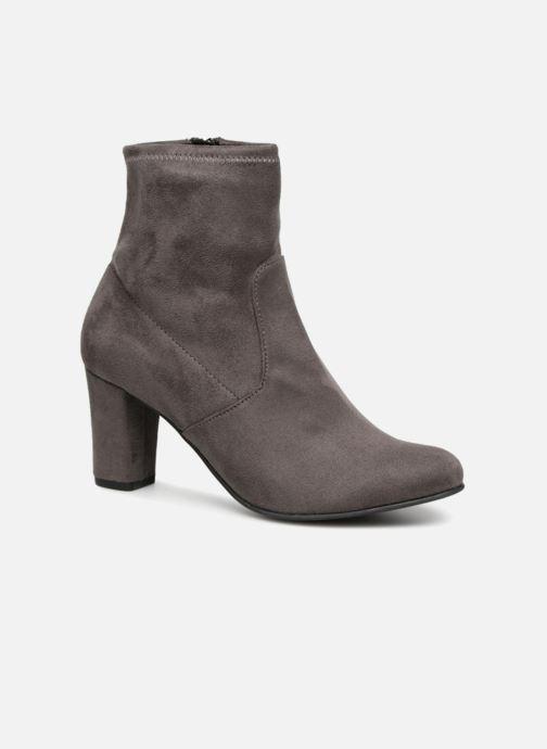 Bottines et boots Caprice Jilian Gris vue détail/paire