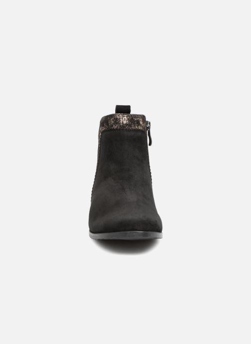 Bottines et boots Caprice Léa Noir vue portées chaussures