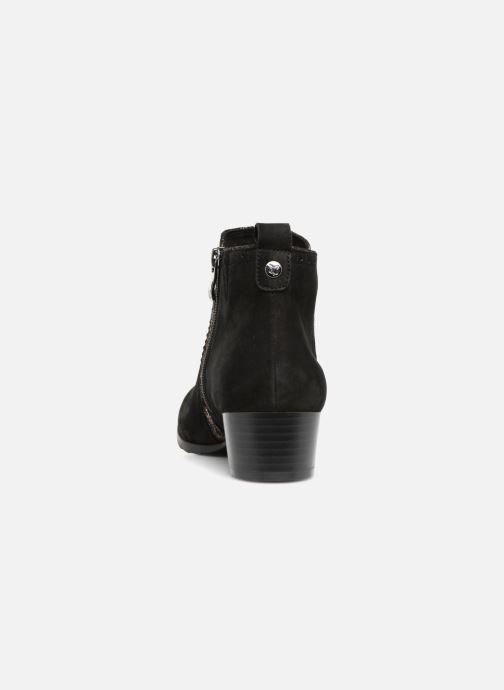 Bottines et boots Caprice Léa Noir vue droite