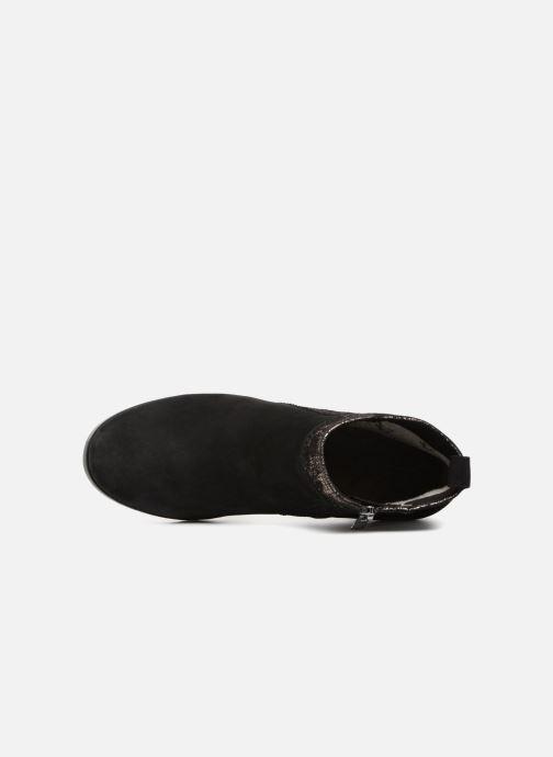 Bottines et boots Caprice Léa Noir vue gauche