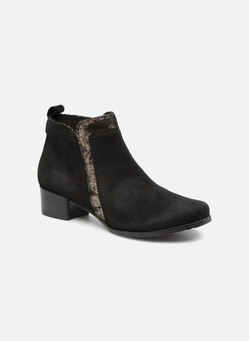 Ankle boots Caprice Léa Black detailed view/ Pair view