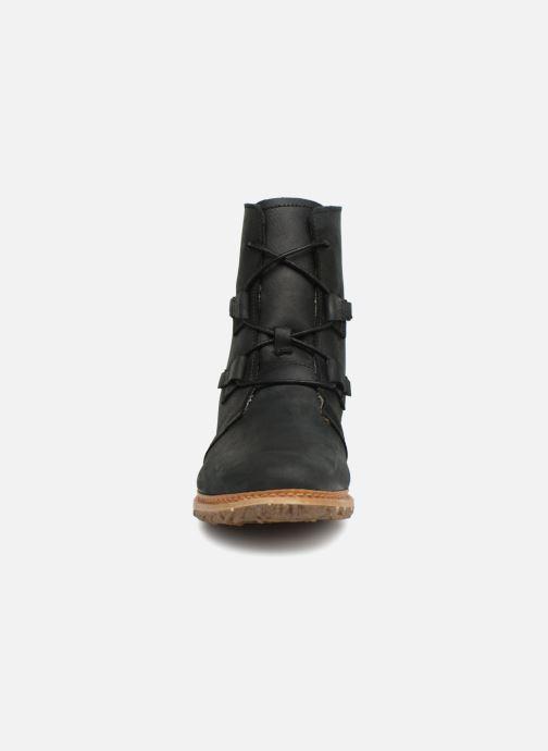 Ankle boots El Naturalista Angkor N5470 Black model view