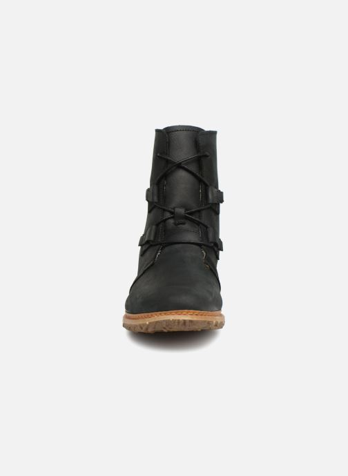 Ankle boots El Naturalista Angkor N5470 Black model view