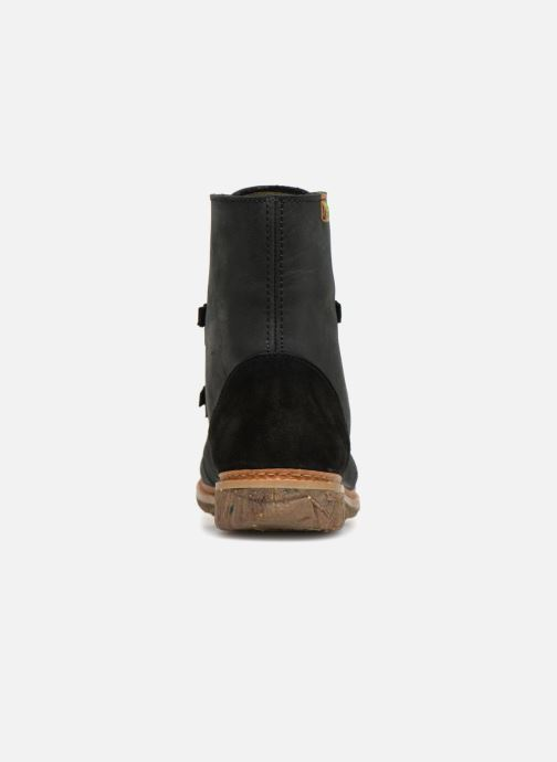 Ankle boots El Naturalista Angkor N5470 Black view from the right