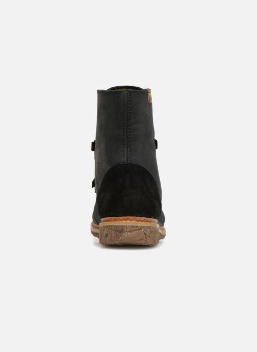 Boots en enkellaarsjes El Naturalista Angkor N5470 Zwart rechts