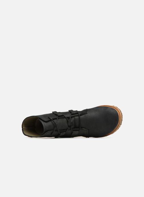 Boots en enkellaarsjes El Naturalista Angkor N5470 Zwart links