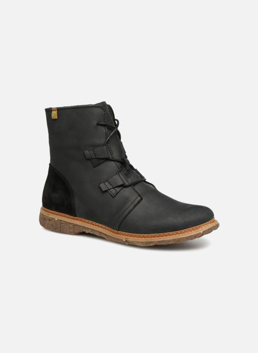 Ankle boots El Naturalista Angkor N5470 Black detailed view/ Pair view