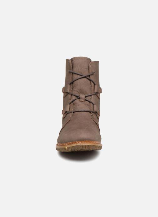 Stiefeletten & Boots El Naturalista Angkor N5470 grau schuhe getragen
