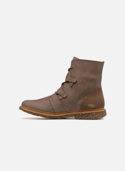 Boots en enkellaarsjes El Naturalista Angkor N5470 Grijs voorkant