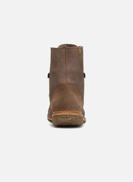 Ankle boots El Naturalista Angkor N5470 Grey view from the right