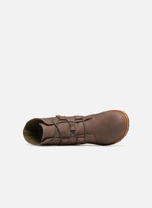 Boots en enkellaarsjes El Naturalista Angkor N5470 Grijs links