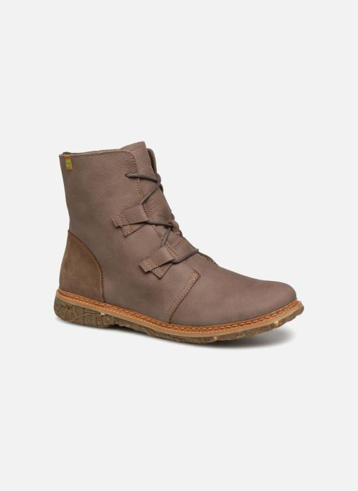 Ankle boots El Naturalista Angkor N5470 Grey detailed view/ Pair view