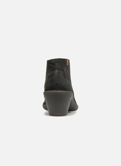 Chaussures à lacets El Naturalista Aqua N5326 Noir vue droite