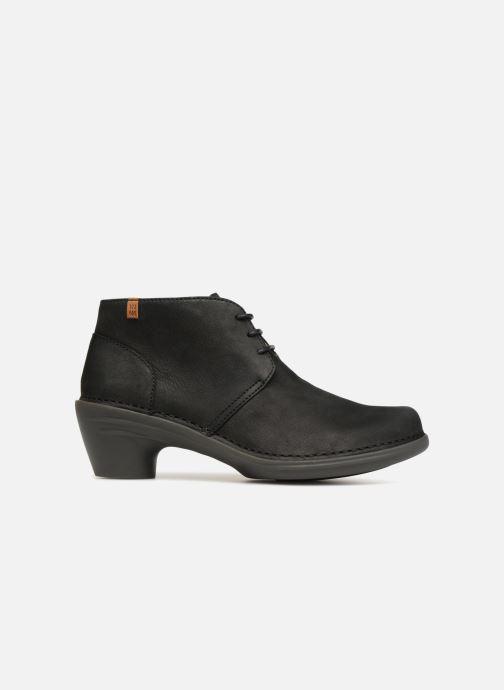 Zapatos con cordones El Naturalista Aqua N5326 Negro vistra trasera