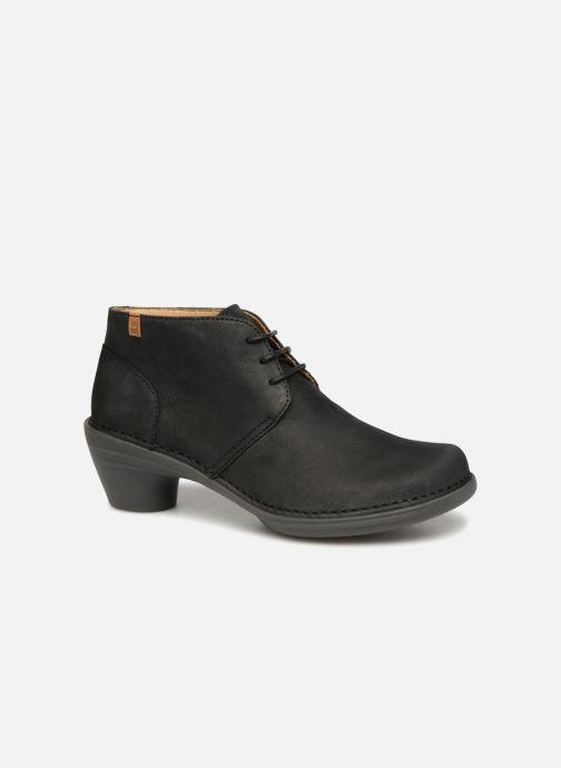 Chaussures à lacets El Naturalista Aqua N5326 Noir vue détail/paire