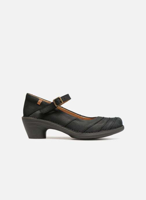 Zapatos de tacón El Naturalista Aqua N5327 Negro vistra trasera