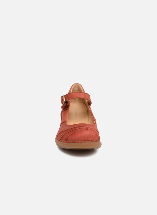 Escarpins El Naturalista Aqua N5327 Rouge vue portées chaussures