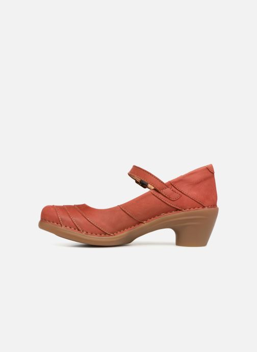 High heels El Naturalista Aqua N5327 Red front view