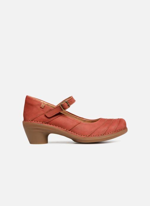 High heels El Naturalista Aqua N5327 Red back view