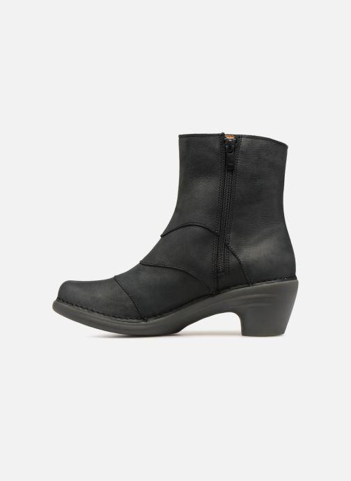 Ankle boots El Naturalista Aqua N5328 Black front view
