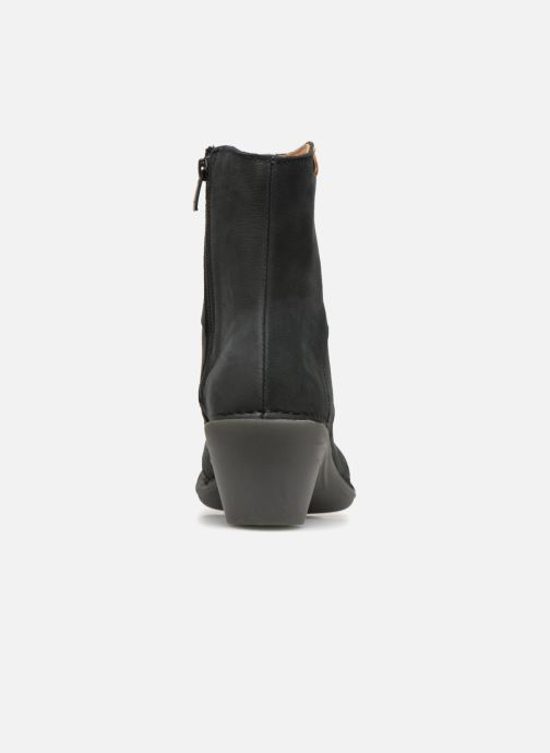 Ankle boots El Naturalista Aqua N5328 Black view from the right